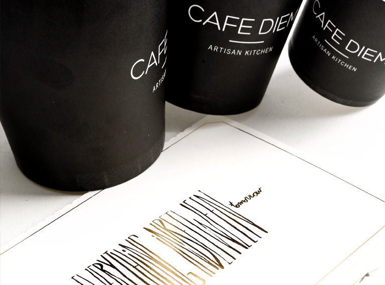 Cafe Diem – Full Concept & Brand Creation For A Beirut Neighborhood Cafe