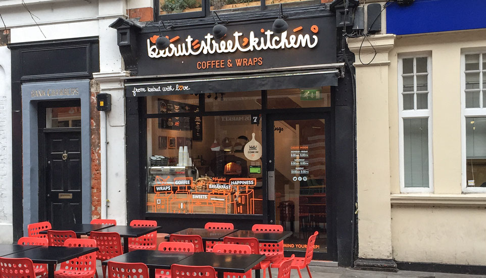 Beirut Street Kitchen – Lebanese Success Story in London