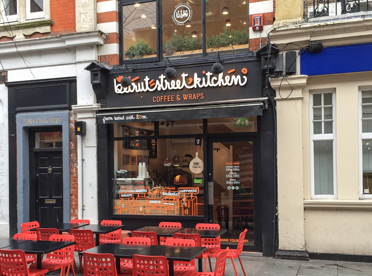Beirut Street Kitchen – Brand Identity Creation Of A Success Story In London