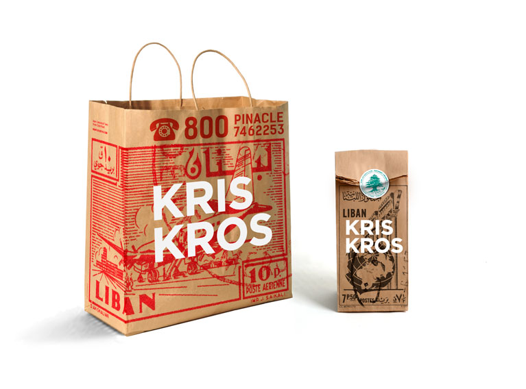 Kris Kros Lebanon – Visual Identity Creation Of A Lebanese Street Food Concept in Dubai