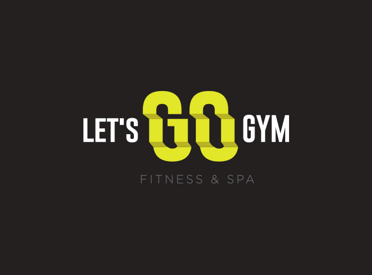 Let's Go Gym – Brand Creation, Environmental Branding & Website For Gym in Abu Dhabi
