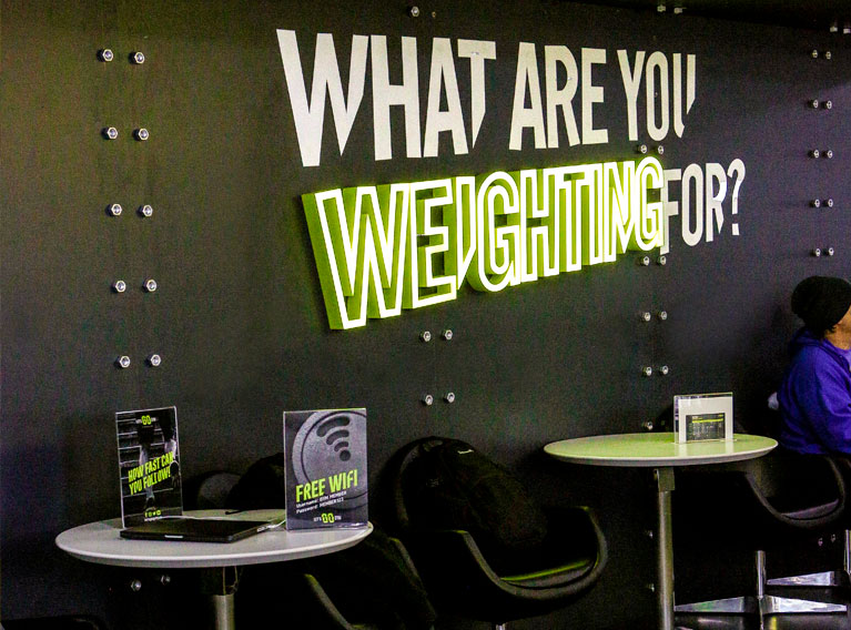 Let's Go Gym – Bespoke Fitness Concept