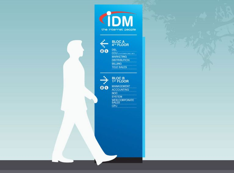 IDM – Advertising Campaign & Mascot Creation For Internet Provider