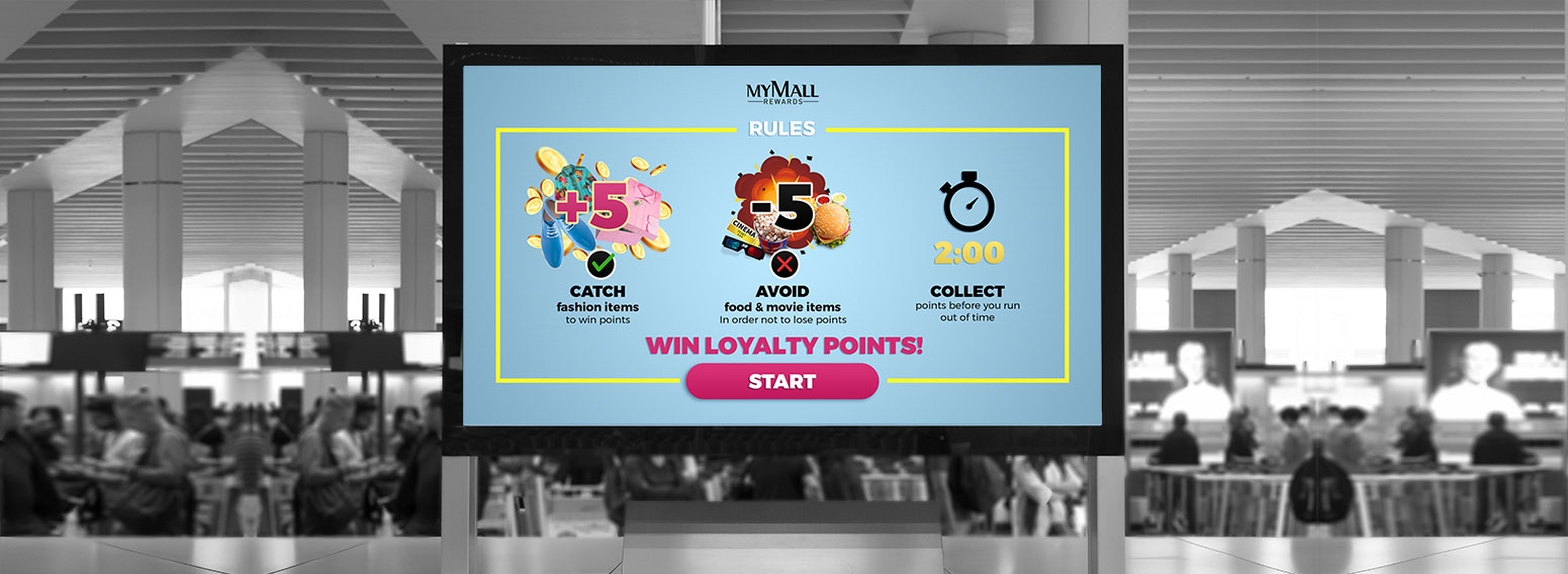 Le Mall – Loyalty Program Gamified Through A Kinect Game