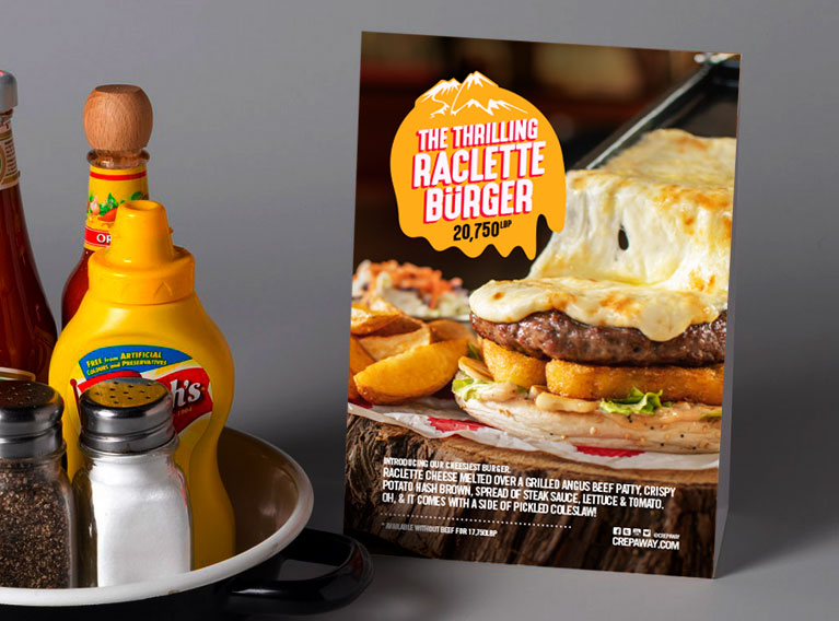 Crepaway – Social Media Content And Campaign For Limited Edition Burger