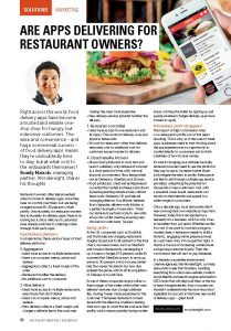 Are Apps Really Delivering For Restaurant Owners? - Wondereight