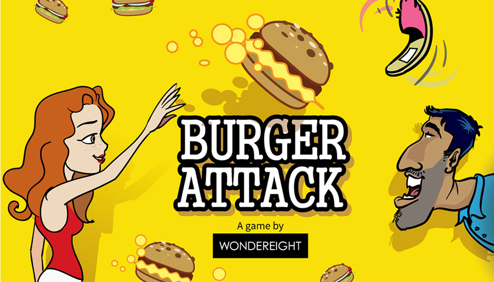 WonderEight and Virgin Radio Launch Burger Attack App