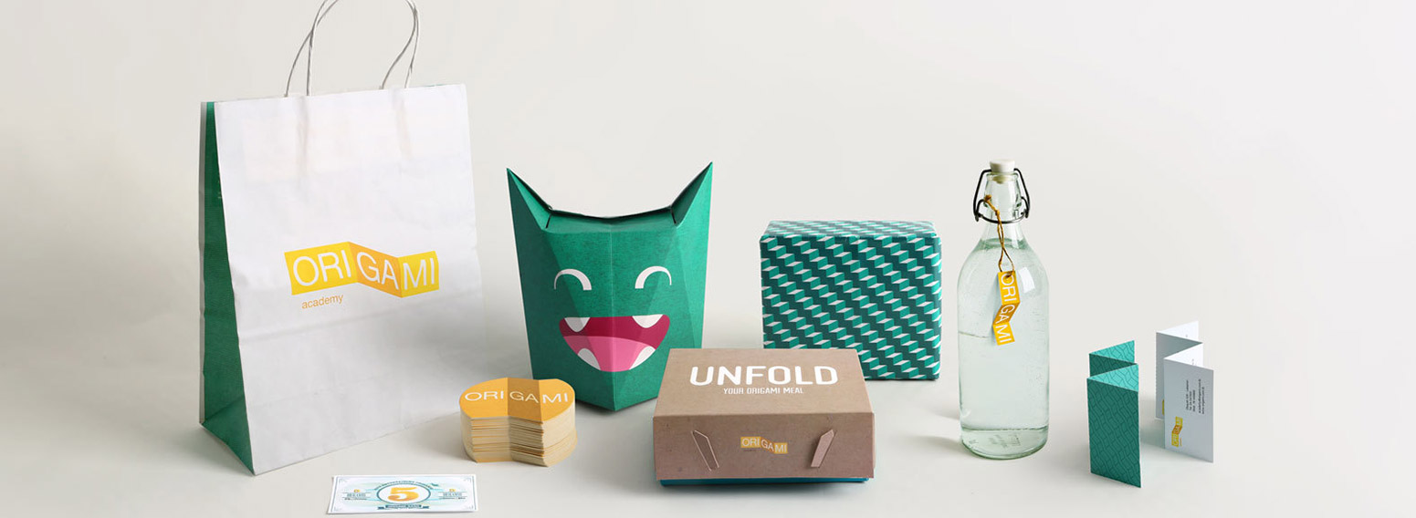 Origami – Themed Brand Identity Creation And Development