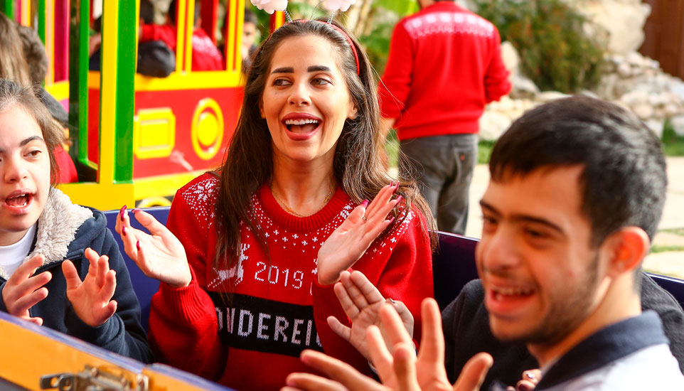 A Sunny Christmas With the Children of Caritas Lebanon