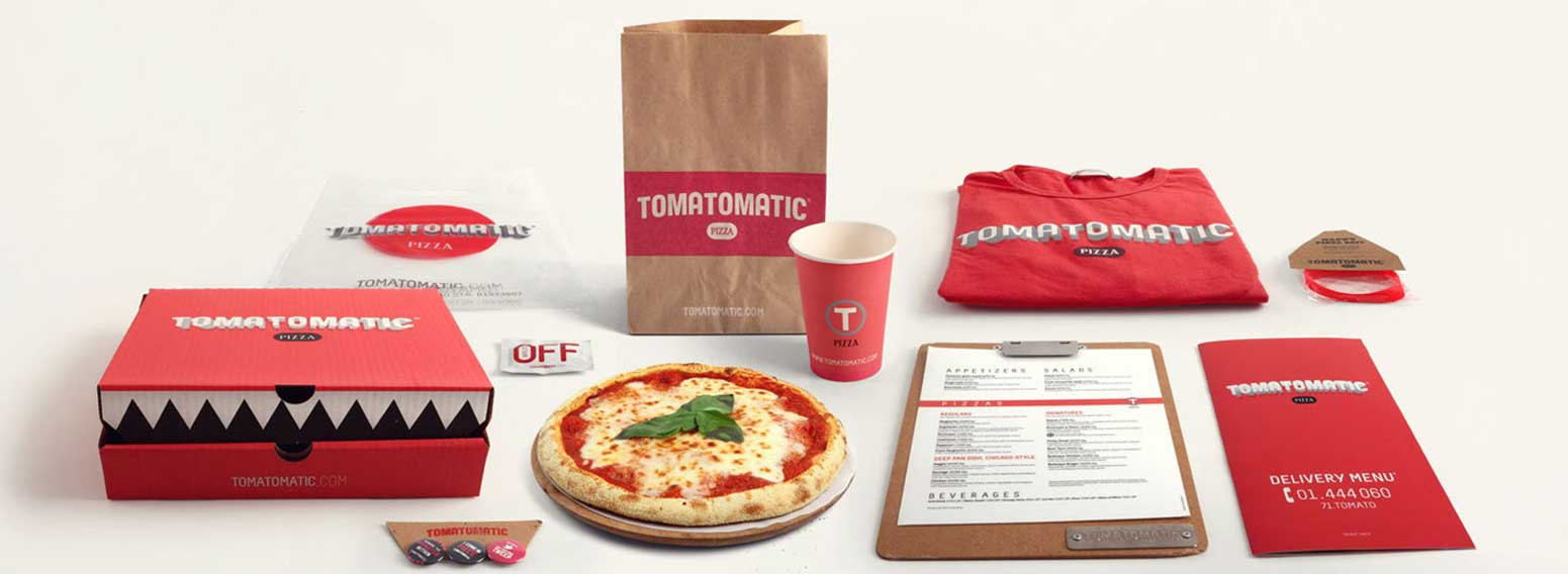 Tomatomatic Pizza – Brand Creation Of A QSR Pizza Delivery Concept In Lebanon