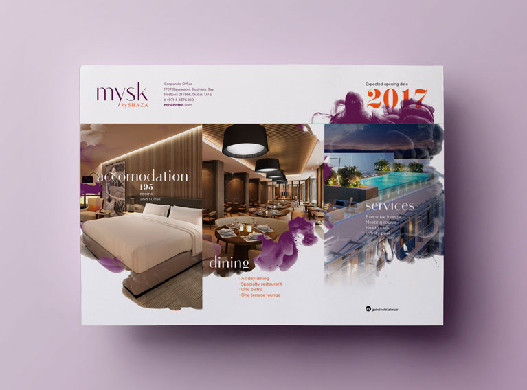 Mysk Hotel – Brand Identity Creation For Luxury Hotel In Oman