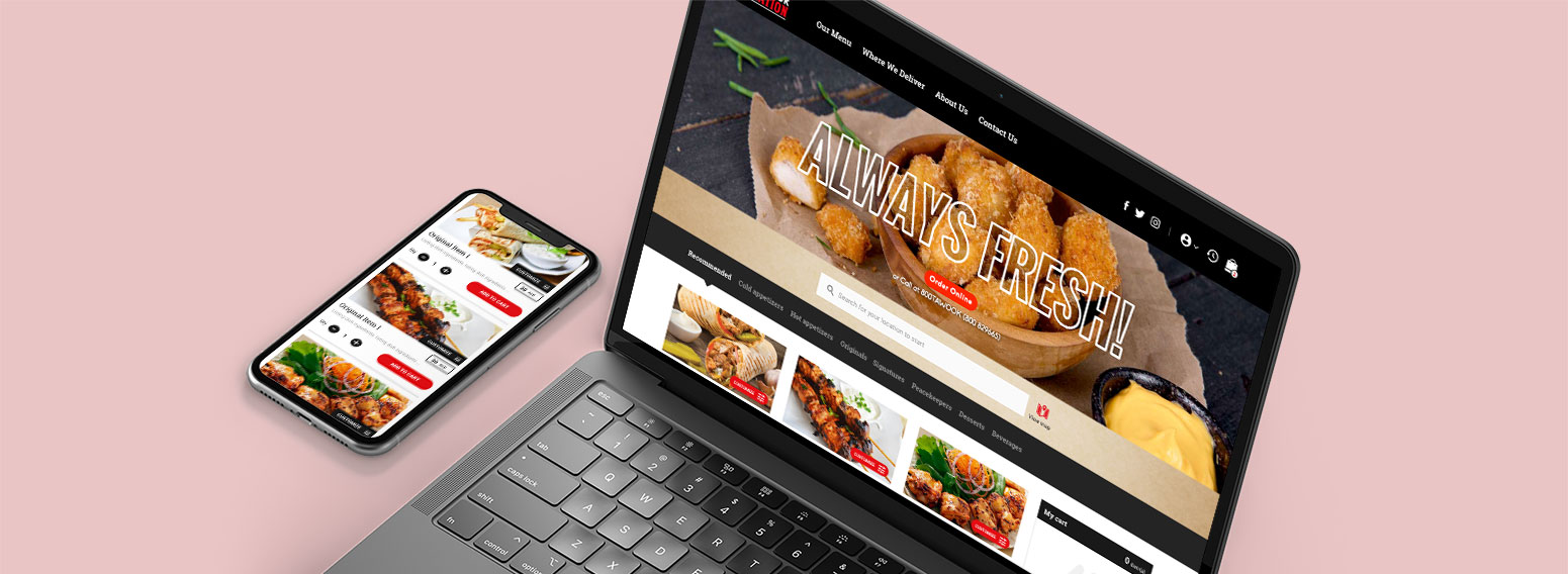 Tawook Nation – eCommerce Website For Delivery Restaurant In Dubai