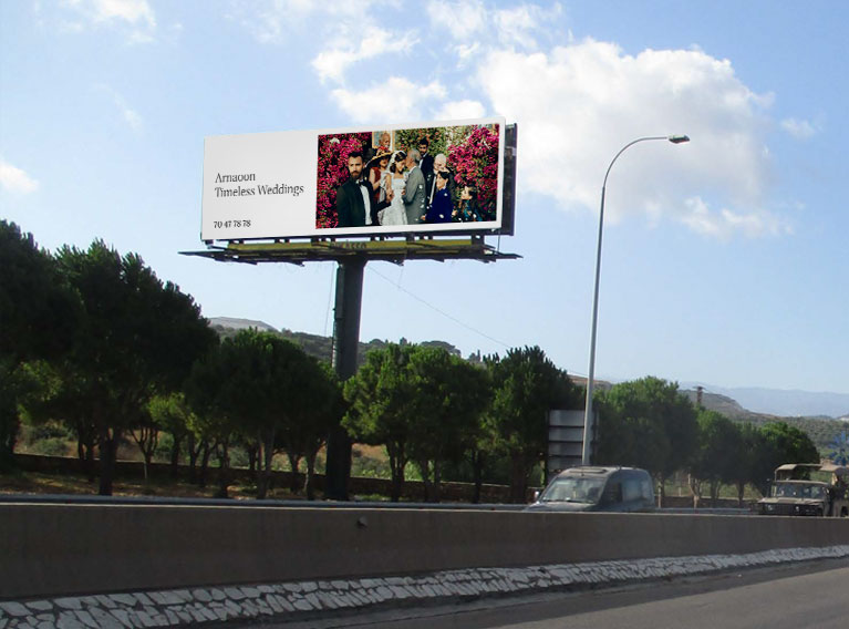Arnaoon Village – 360 Wedding Campaign With OOH, TVC, Social Media & Digital