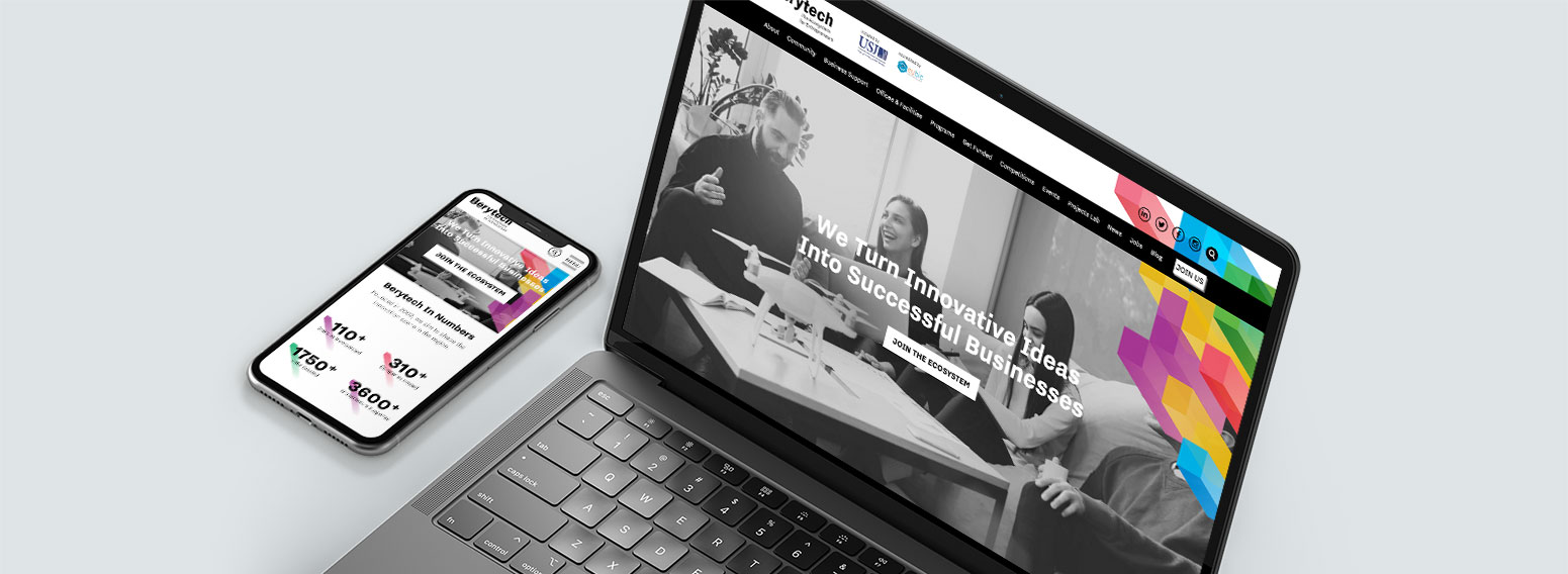 Berytech – Website Revamp for Lebanon's Leading Business Incubator