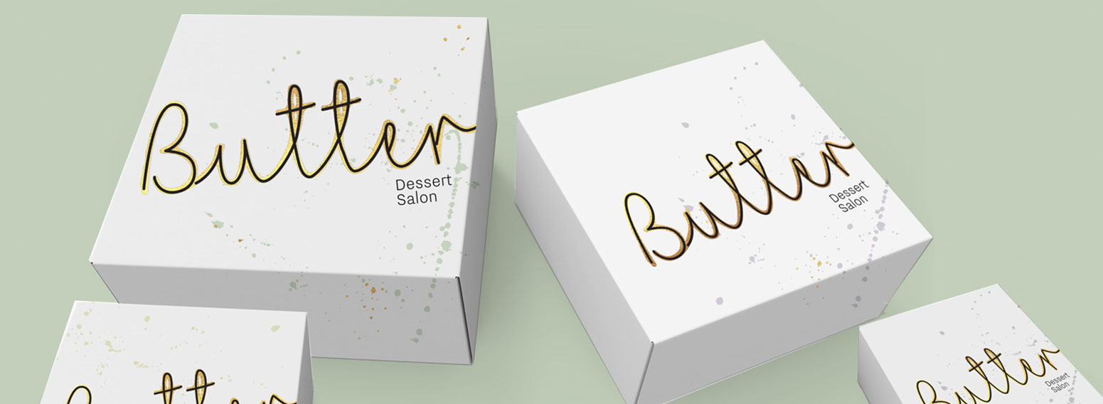 Butter Dessert – Brand Design & Visual Identity of Dubai Coffee Shop