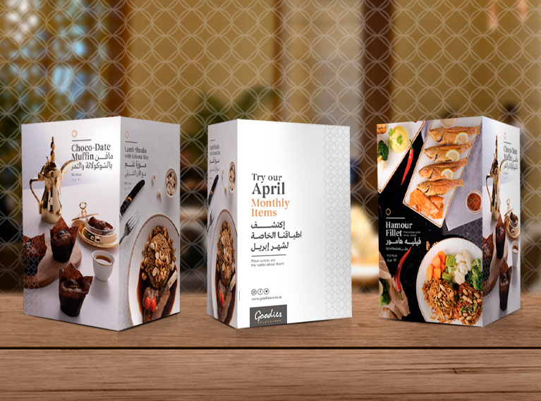 Goodies Selections – Communication, Branding & Social Media Handling For Riyadh Concept Restaurant