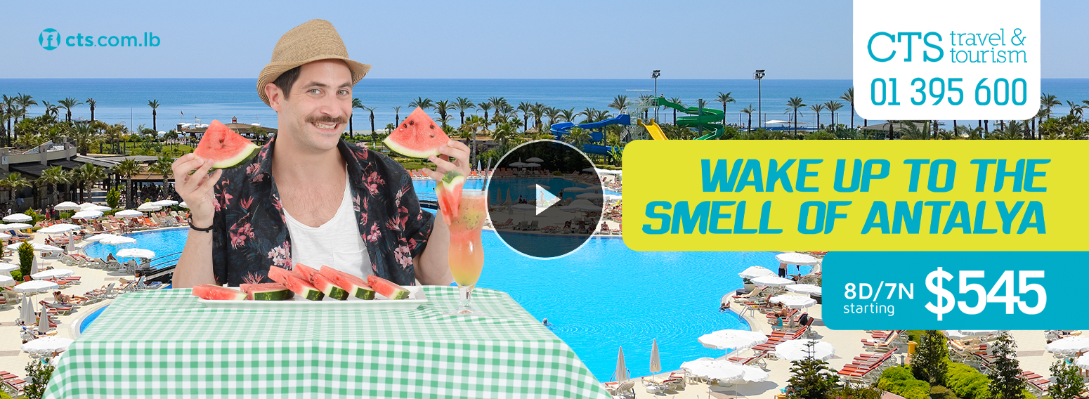 CTS Travel & Tourism – Summer Communication Campaign For Lebanese Travel Agency