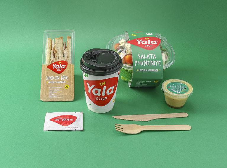 Yala Stop – Brand Creation, Environment Branding & Packaging For Convenience Store