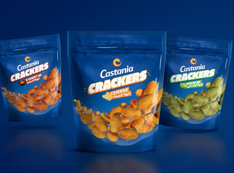 Castania – Brand Identity Uplift & New Packaging Design For Lebanese Roasted Nuts Brand