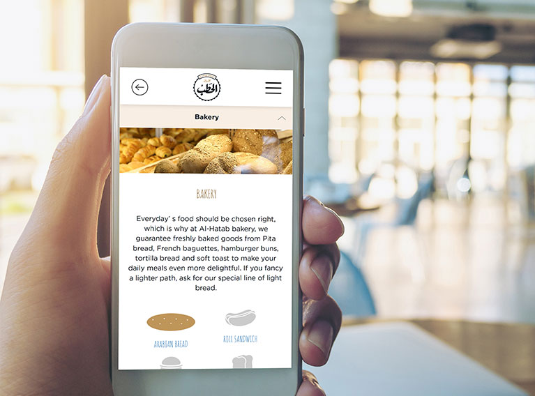 Al Hatab Bakery – Design, Development & SEO Optimization Of The Saudi Bakery's Website