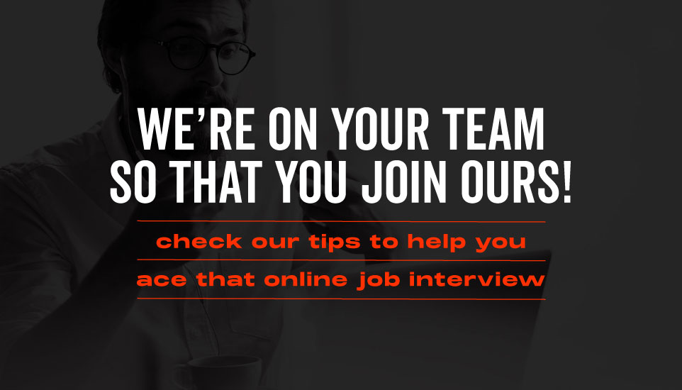 9 Tips To Help You Ace That Online Job Interview!