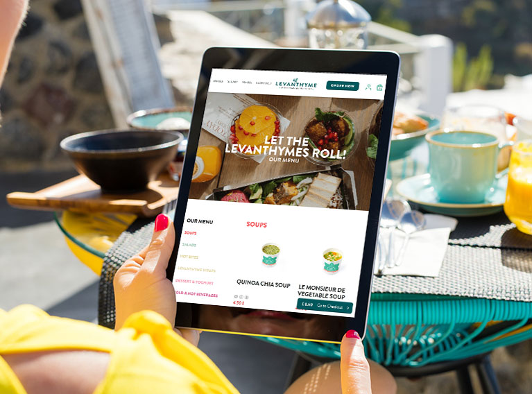 Levanthyme – eCommerce Website For Levantine Kitchen In The Heart Of London
